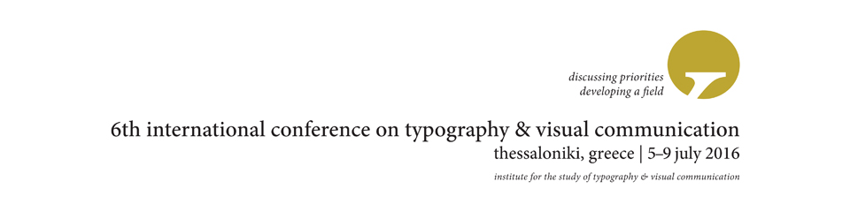ICTVC — International Conference on Typography and Visual Communication